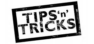 2016-0422 Tips and Tricks