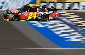 Jeff Gordon 24 Finish Line