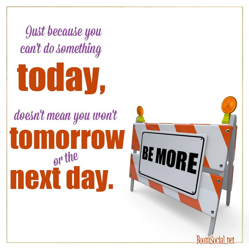 2014-1103 Can't Do It Today poster