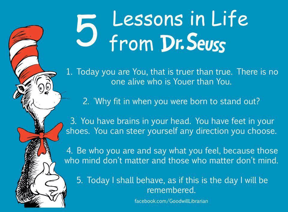 Lessons In Life From Dr. Seuss