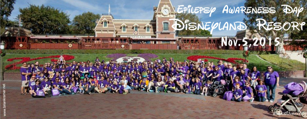 2015-0703 Epilepsy Awareness at Disneyland