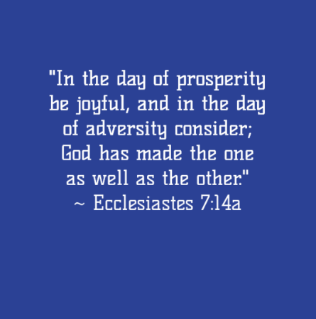 2016-0531 Quote from Ecclesiastes